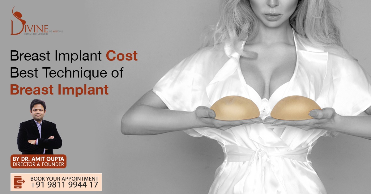 Breast Implant Cost and the Best Method of Breast Enlargement in India